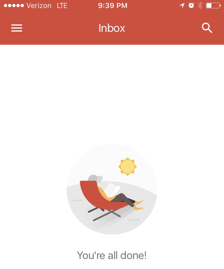 Create your peaceful productivity breakthrough...with your inbox.